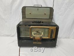 Vintage Zenith Wavemagnet Transoceanic Radio Model H500
