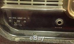 Vintage Zenith Y600 Trans Oceanic Wave Magnet Radio Black Box Case Chassis 6T40Z