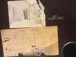 Vintage Zenith cobra matic model H664 Phonograph/Radio