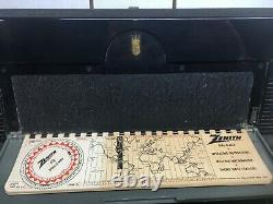 WORKING, 1950's, ZENITH MODEL 600 TRANSOCEANIC MULTIBAND RADIO