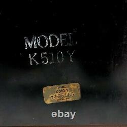 Working 1952 Vintage Zenith Tube Radio Tabletop K510Y MCM Mid Century Modern