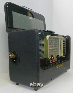 Working Vintage 1955 Zenith Model T600 Trans Oceanic Radio