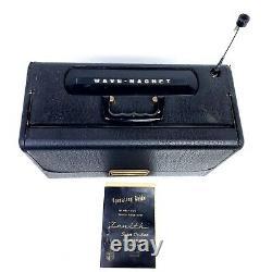 Working Vintage Zenith L600 TransOceanic Tube Radio Portable 1950's WaveMagnet