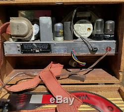 ZENITH AM Wave Magnet Tube Radio 5G500 Portable AC/DC 1941 No Battery Pack