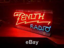 ZENITH Original Store Front Neon Sign