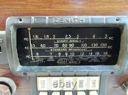 ZENITH RADIO WithSHORTWAVE MODEL 5678