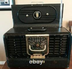 ZENITH TRANSOCEANIC G500, chassis 5g40 short wave 5 tube SEE VIDEO WORKING