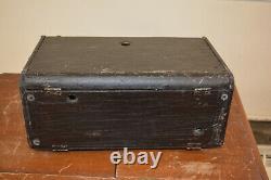 ZENITH TRANS-OCEANIC 8G005 Short Wave Radio, Original Magnet Powers Up