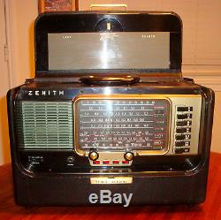 ZENITH TRANS-OCEANIC A600 (1958) SHORTWAVE PORTABLE PROFESSIONABLY REFURBISHED
