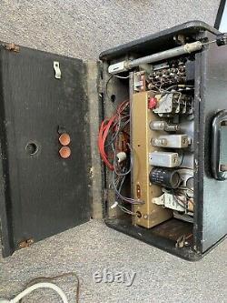 ZENITH TRANS-OCEANIC G500 Short Wave Radio Works