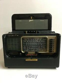 ZENITH Trans-Oceanic B600 SHORTWAVE RADIO WORKING CONDITION