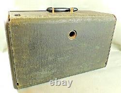 ZENITH Trans-Oceanic Wave Magnet H500 Tube Shortwave Radio Receiver Parts Repair