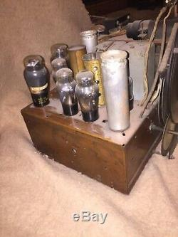 Zenith 12 Tube Radio Shutter Dial Chassis Only
