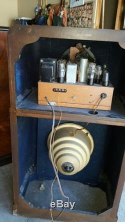 Zenith 12-s-265 & 12-s-266 Tube Radios Nice Original