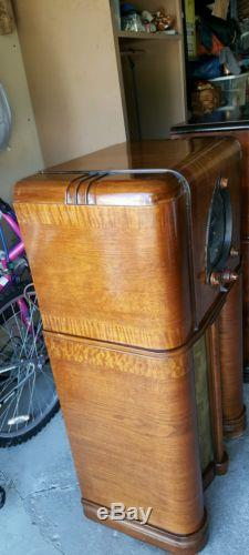 Zenith 12-s-265 Tube Radio Nice Original
