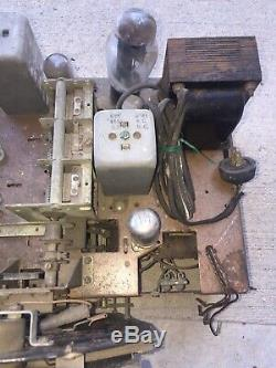 Zenith 12 tube shutter dial chassis console radio