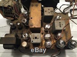 Zenith 1941 12s 568 antique prewar radio chassis