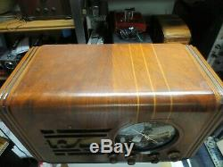 Zenith 5S119 radio, fully restored and working well