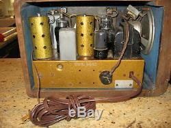 Zenith 5S319 Racetrack tube radio fully restored