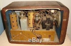Zenith 5s-319 Race Track Dial Radio 1930's