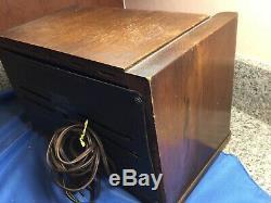 Zenith 6D029 Boomerang Wood Deco Tube Radio PARTS REPAIR