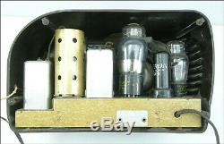 Zenith 6D311 Bakelite Table Top AM Set, 1939, Very Clean Classic