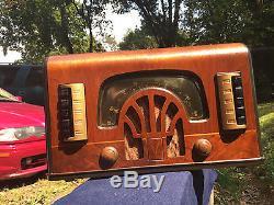 Zenith 6R631 Tube Radio