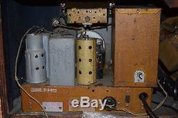 Zenith 6-J-322 Tabletop Antique Radio (Stars And Stripes model) Like 6-S-322