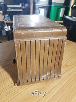 Zenith 705 Wood Tube Radio Original Power Tested