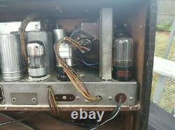 Zenith 7G605 Trans Oceanic radio, sail boat version, tested
