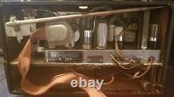 Zenith 7G605 Transoceanic radio, Bomber version, tested