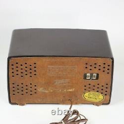 Zenith 7H921-Z AM/FM Radio S-14549 Armstrong System