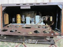 Zenith 7S633 antique radio