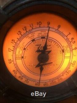 Zenith #807 Vintage Vacuum Tube Tombstone wood classic radio