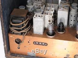 Zenith 8A128A export tube radio