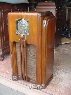 Zenith 8s154 Console Radio