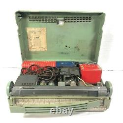 Zenith A400 Portable Antique Mini-Tube Radio 1950's For Part or Not Working
