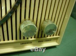Zenith AM-FM Vintage Tabletop Tube Radio Plays S-46351- FOR REPAIR 19E023