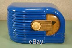 Zenith Art Deco Bakelite Tube Radio