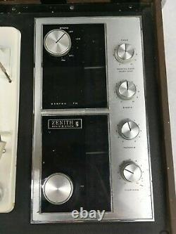 Zenith B595 Solid State Circle of Sound Phonograph Record Player Tuner