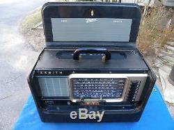 Zenith B600 Oceanic Wave-Magnet Radio AM/Shortwave/SWL- Works