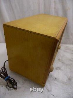 Zenith B835E Vintage HI Fidelity AM/FM AFC Tube Radio 50's Mid Century USA Made