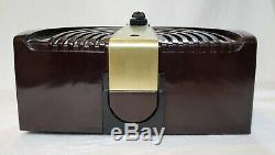Zenith Bakelite 6D015Z AM Art Deco Radio (1946) COMPLETELY RESTORED