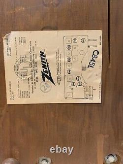 Zenith C845 AM/FM Restored Tube Radio