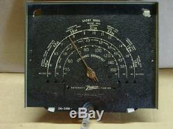 Zenith Console Radio Dial with Brass Z Pointer 26-288