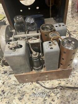 Zenith Cube Radio Model 5S218 (1938) Untested Power Cord Damage