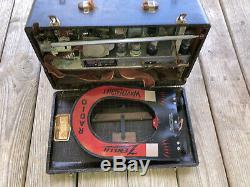 Zenith Deluxe Clipper Model 7G605 Trans-Ocean Shortwave WWII Bomber B17 Working
