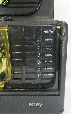 Zenith G500 Trans-Oceanic Radio 5G40 Chassis Portable Shortwave Radio