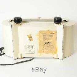 Zenith H511 W Racetrack Vintage Tube Radio 1951 Consultone, Works