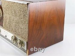 Zenith MJ1035 MJ1035W 12J01 Vintage Wooden AM/FM Tabletop Radio, Working Order